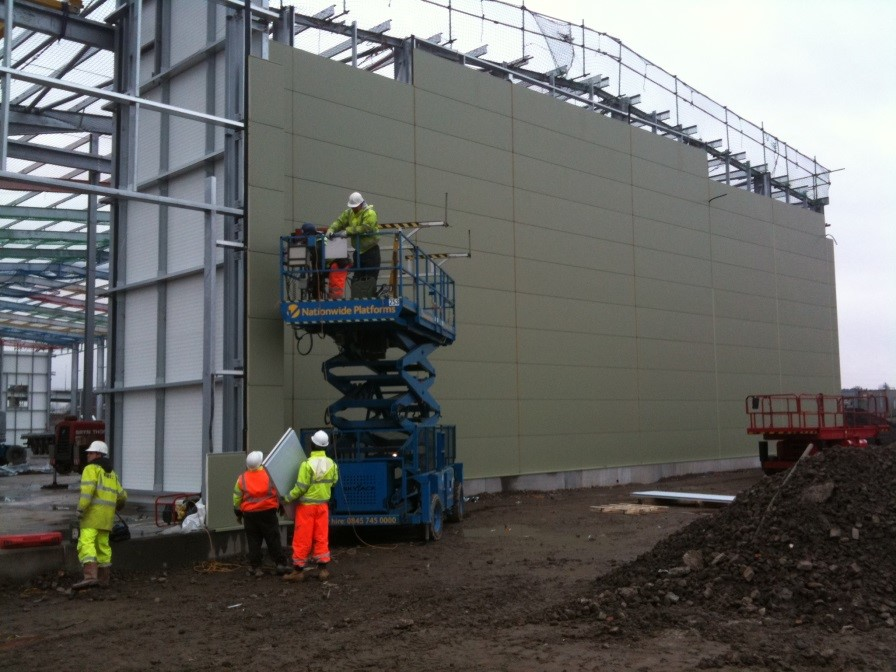 Capable Cladding Industrial Cladding Manchester